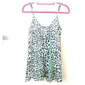 Show Me Your Mumu leopard mini dress
